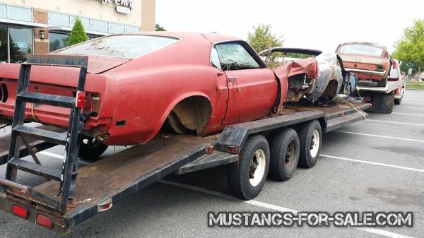 X2 1969 Mustang fastback projects – $3500 (huntsville