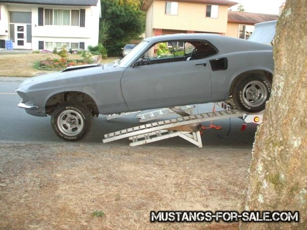 1969 mustang fastback project vintage mustangs for sale. Black Bedroom Furniture Sets. Home Design Ideas