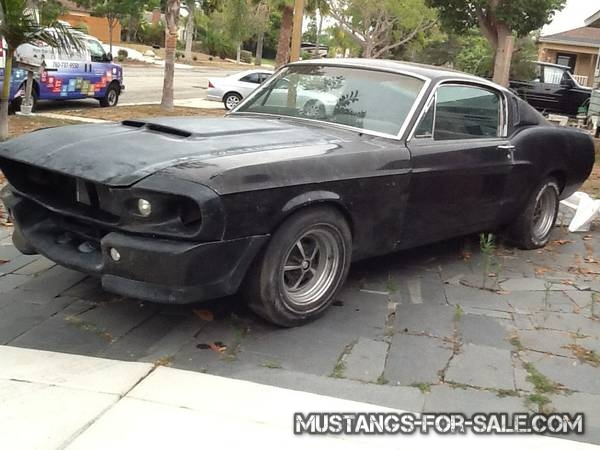 1968 ford mustang fastback eleanor 17500 oceanside ca vintage mustangs for sale. Black Bedroom Furniture Sets. Home Design Ideas