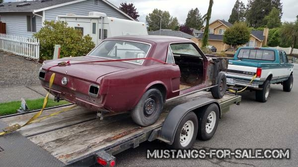 1966 mustang – $400 (Lake cavanaugh)