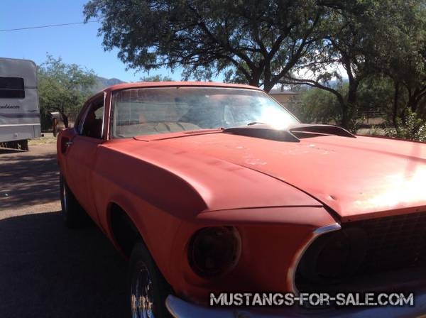 1969 Mach1 Mustang project – $8500 (Tucson)