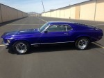 1970 Mustang Mach 1- 428 – four speed 1 of only 320 built – $44995