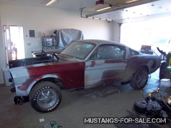 66 Mustang Fastback 13500 Ellensburg Vintage