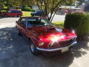1969 Mustang 428 CJ GT Coupe – $40000