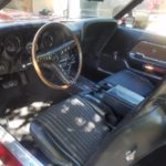 1969 428 CJ GT Mustang Coupe - interior driver side
