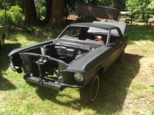 1968 Ford Mustang Roller – $800 (Yelm)
