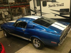 1968 ford mustang Shelby gt 500. 428 4 speed – $39500 (La habra)