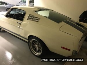 1968 Mustang GT350 Fastback – $65000 (campbell ca)