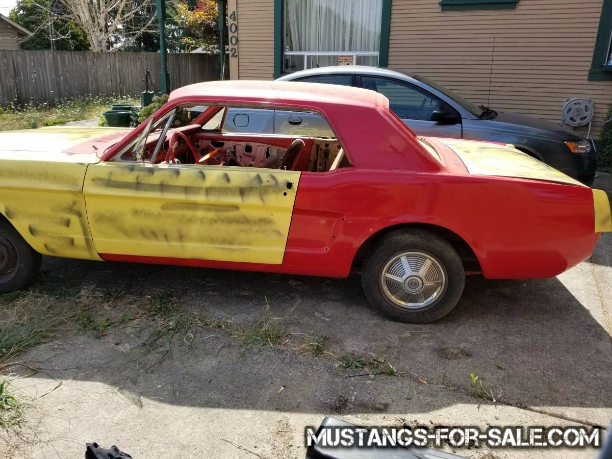 1965 mustang project 1500 vancouver wa
