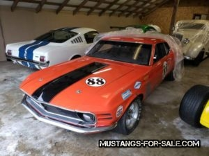 1970 Boss Mustang Vintage Race Car – $35000 (lake stevens)